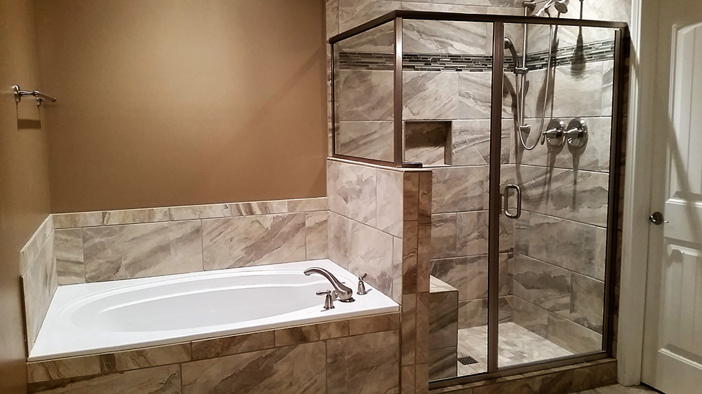 Awe Inspiring Custom Bathrooms Bathroom Remodeling Leigh Custom Homes Beutiful Home Inspiration Semekurdistantinfo